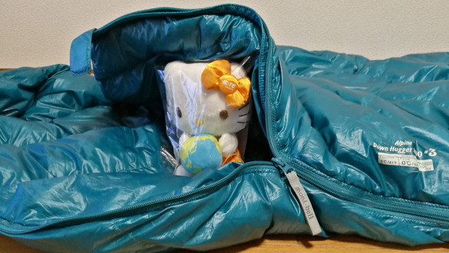 自宅・家で寝袋&マット生活