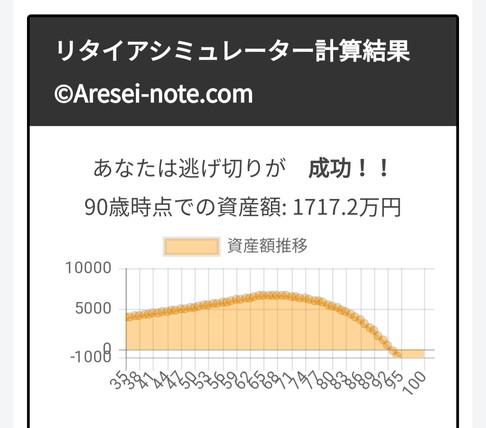 リタイアシミュレーター/Aresei-note(FIREシミュレータ)