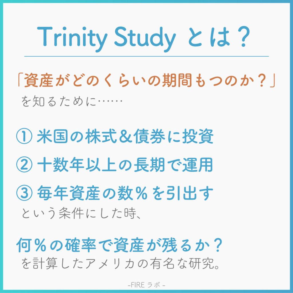 FIREムーブメント-Trinity Studyとは?