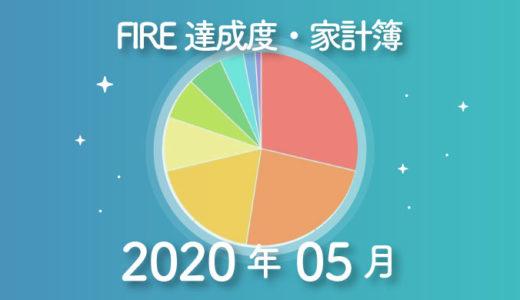 【劇的家計改善!】ひこすけのFIRE達成度・家計簿をブログ公開【2020年05月】【FIRE・セミリタイア】