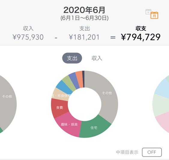 2020年06月のFIREラボのFIRE家計簿