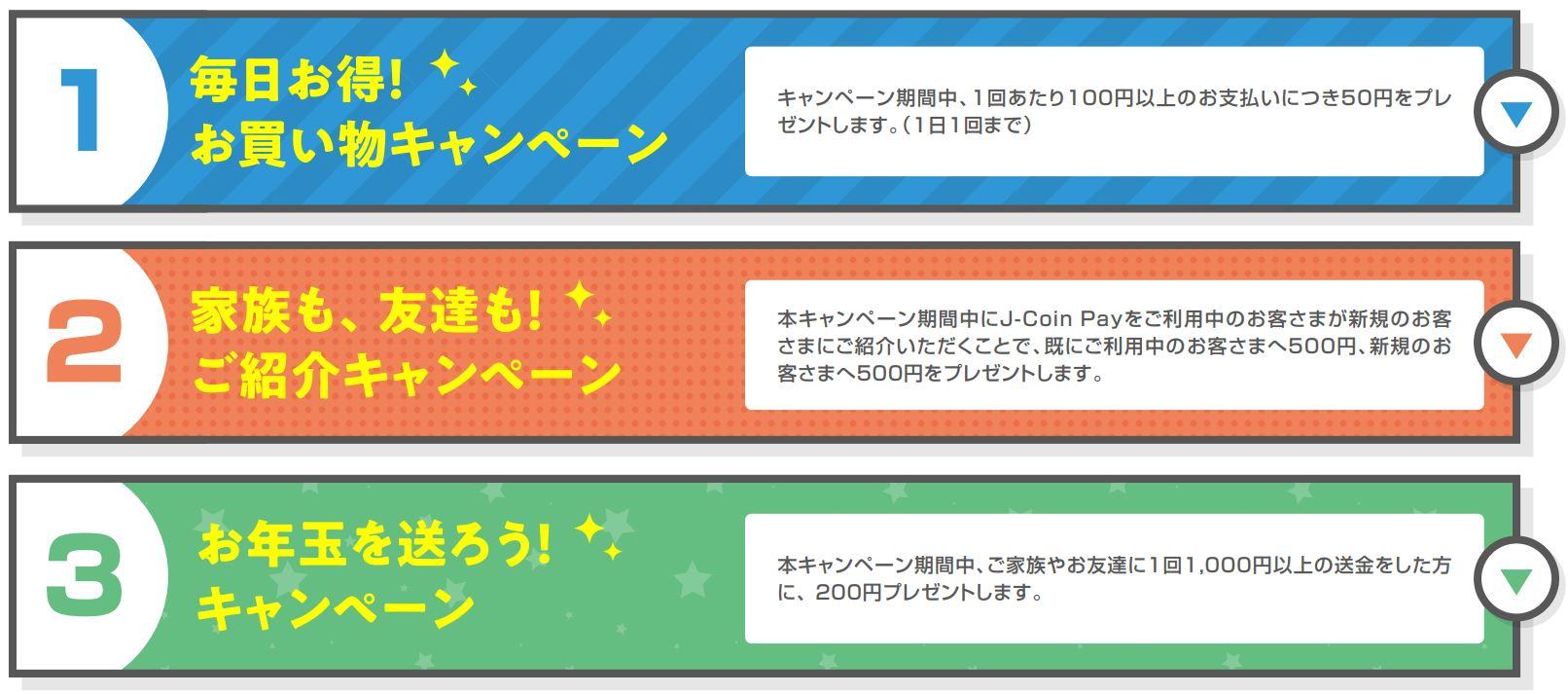 J-Coin Payキャンペーン